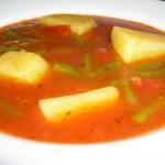 Kartoffel-Eintopf mit Grünen Bohnen