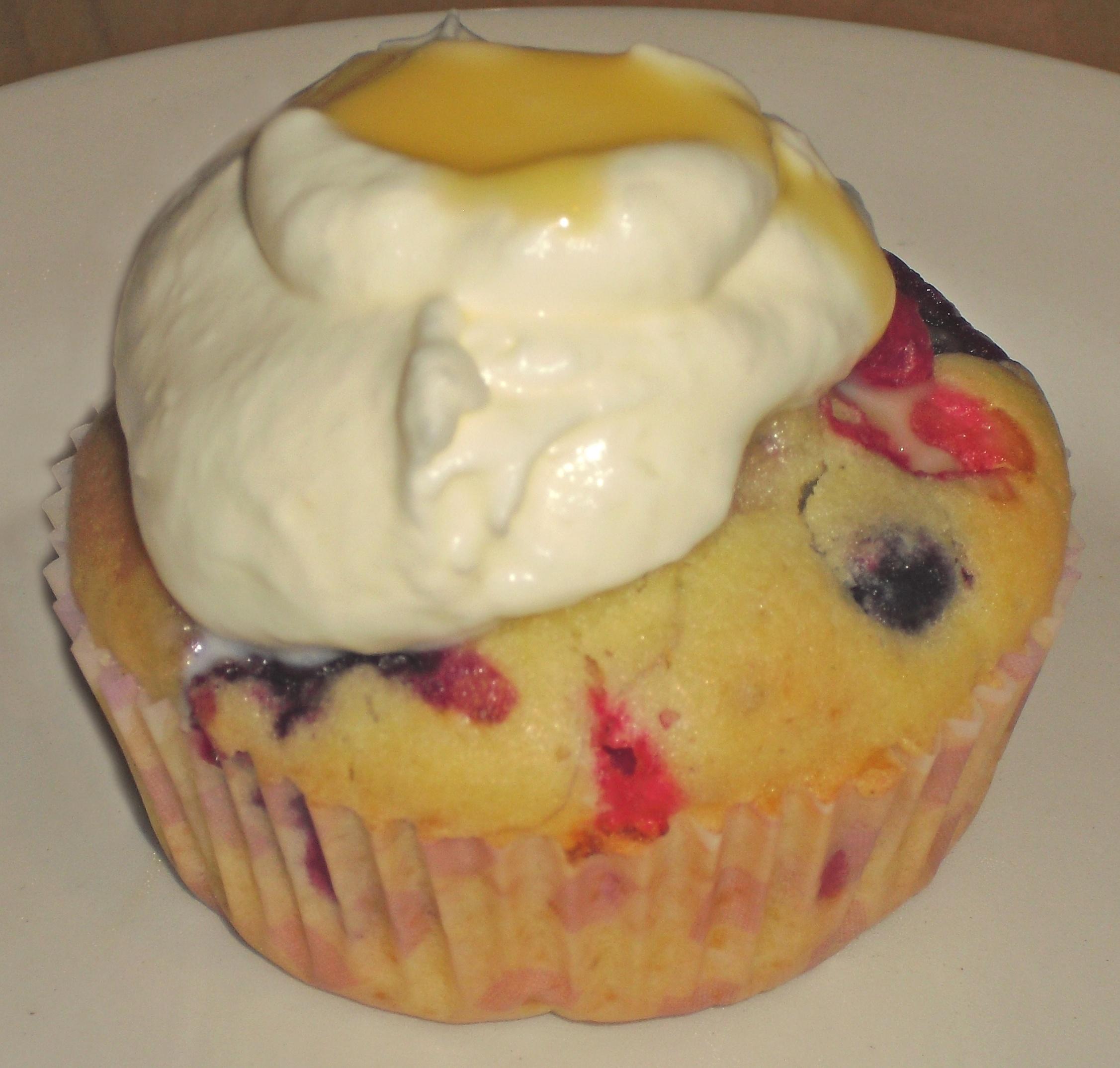 Eierlikör-Beeren-Muffins II