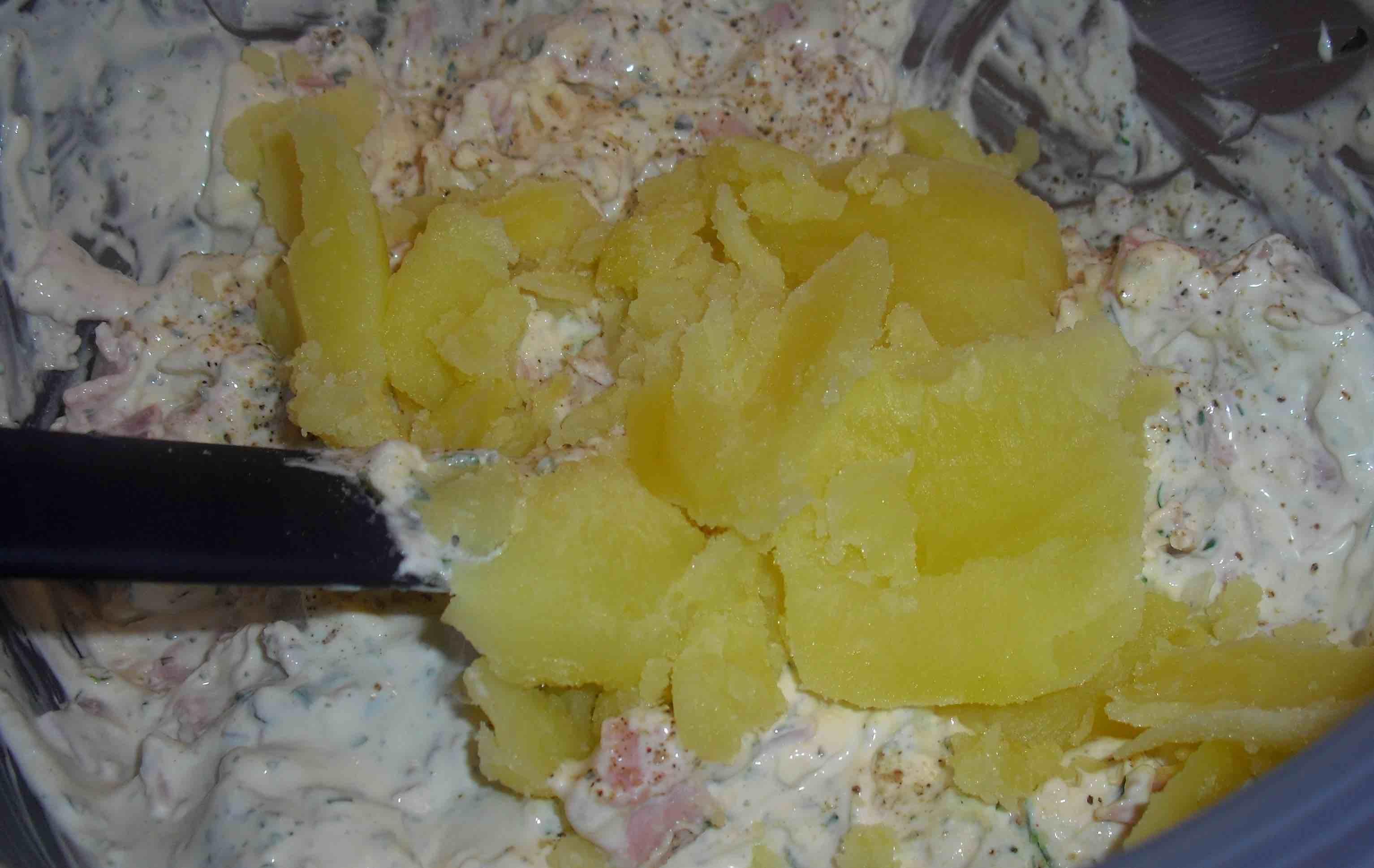 Kartoffelmasse