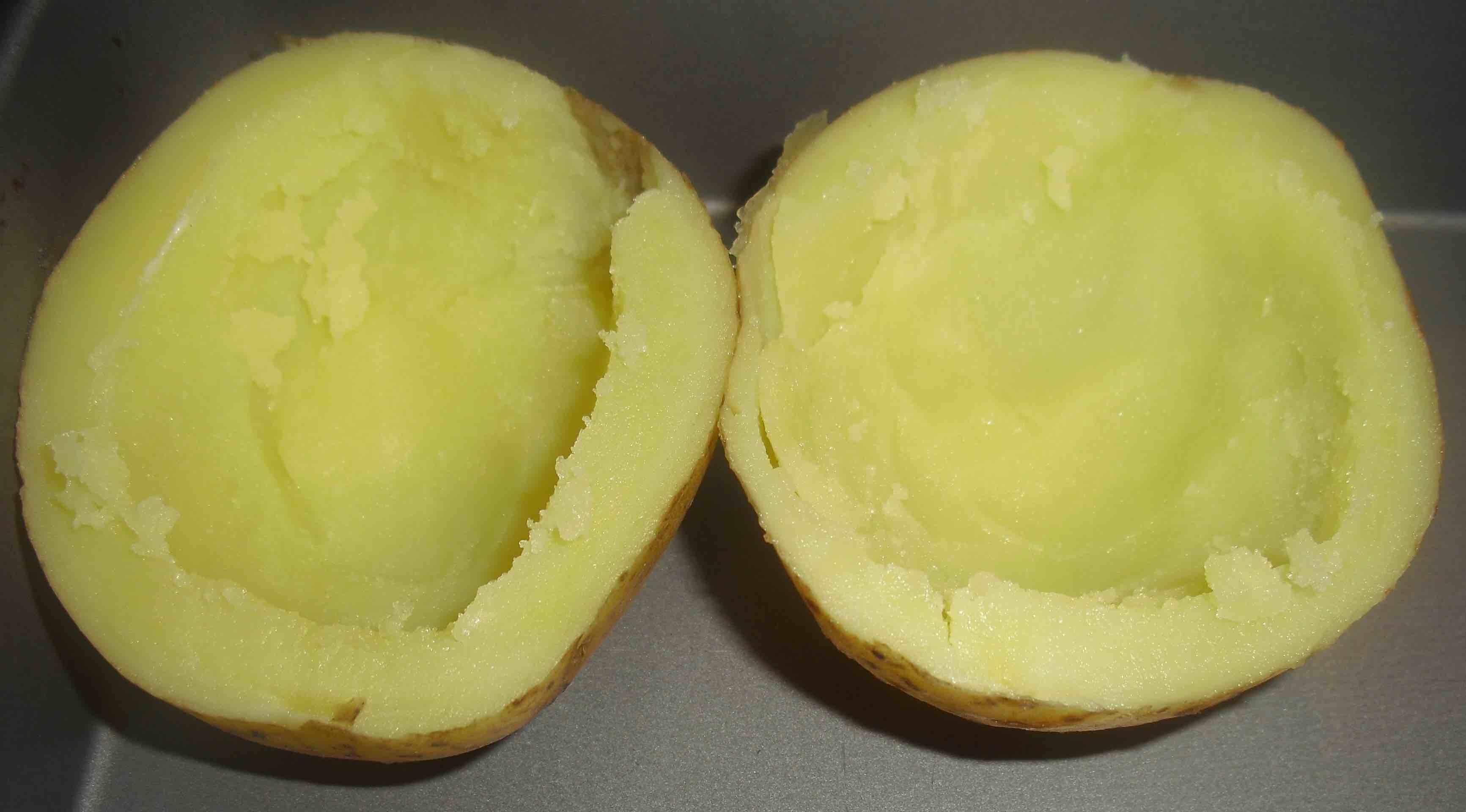 Kartoffeln leer